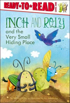 Bookjacket for  Inch and Roly and the very small hiding place