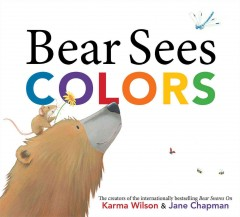 Bookjacket for  Bear Sees Colors
