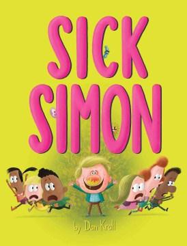 Bookjacket for  Sick Simon