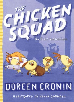 Bookjacket for The Chicken Squad