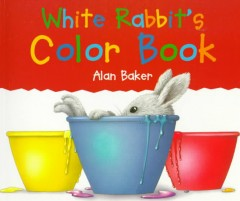Bookjacket for  White Rabbit's Color Book