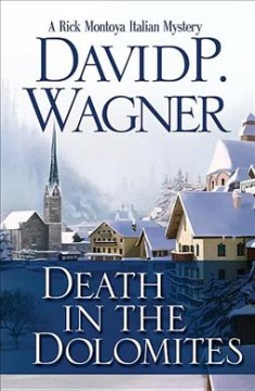 Bookjacket for  Death in the Dolomites