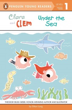 Bookjacket for  Clara and Clem under the sea