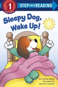 Bookjacket for  Sleepy Dog, wake up!