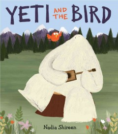 Bookjacket for  Yeti and the bird