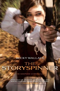 Bookjacket for The Storyspinner