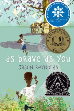 Bookjacket for  As brave as you