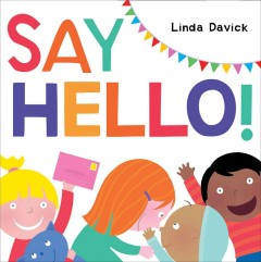 Bookjacket for  Say hello!