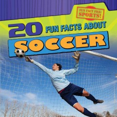 bookjacket for 20 fun facts about soccer