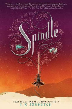 Bookjacket for  Spindle