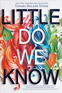 Bookjacket for  Little Do We Know