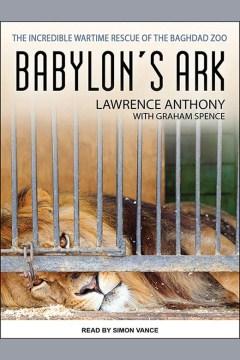 bookjacket for Babylon's ark
