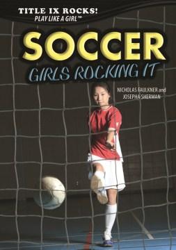 bookjacket for Soccer : girls rocking it