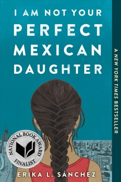 bookjacket for I am not your perfect Mexican daughter