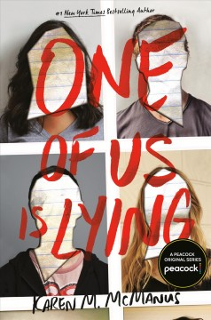 Bookjacket for  One of Us is Lying