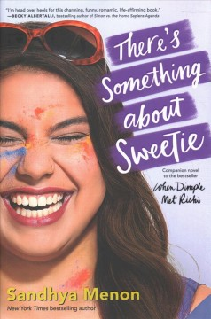 Bookjacket for  There's Something About Sweetie