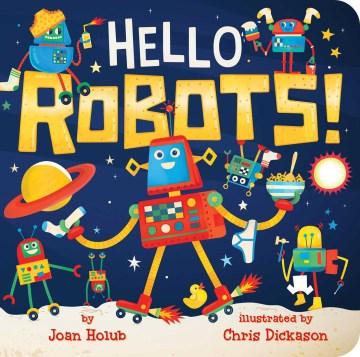 Bookjacket for  Hello Robots