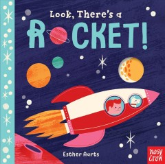 Bookjacket for  Look, There's a Rocket!