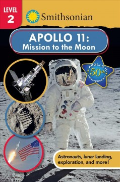 bookjacket for  Apollo 11 : mission to the moon