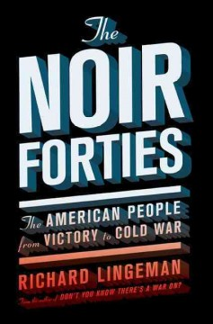 bookjacket for The noir forties