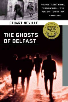 Bookjacket for The ghosts of Belfast