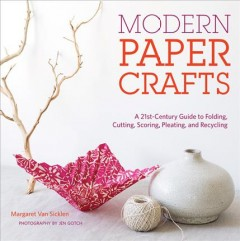 Bookjacket for  Modern Paper Crafts