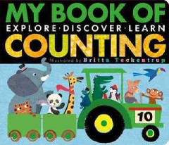 Bookjacket for  My Book of Counting : Explore, Discover, Learn