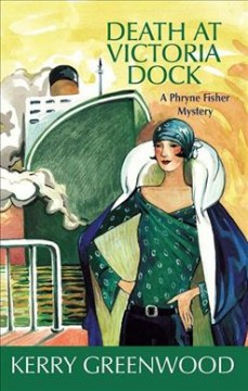 Bookjacket for  Death at Victoria Dock