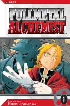 Bookjacket for  Fullmetal Alchemist