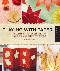 Bookjacket for  Playing With Paper