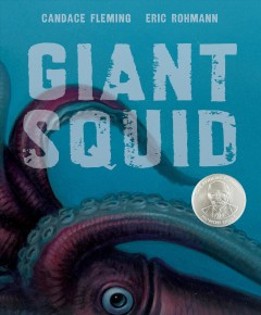 Bookjacket for  Giant squid