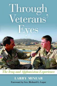 bookjacket for Through veterans' eyes : the Iraq and Afghanistan experience