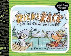 Bookjacket for  Rick & Rack and the great outdoors