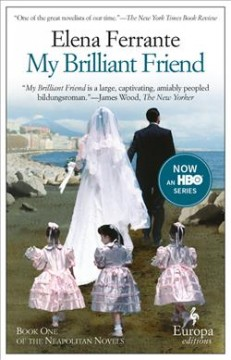 Bookjacket for  My brilliant friend