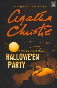 Bookjacket for  Hallowe'en party