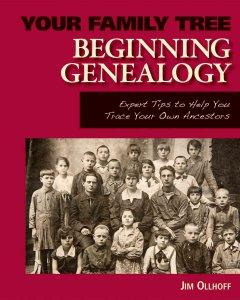 Bookjacket for  Beginning genealogy
