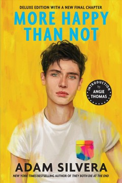 Bookjacket for  More Happy Than Not