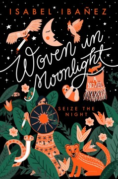 Bookjacket for  Woven in Moonlight