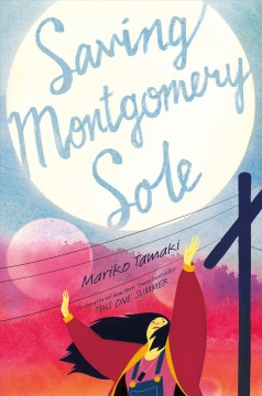 Bookjacket for  Saving Montgomery Sole