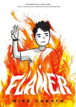 Bookjacket for  Flamer