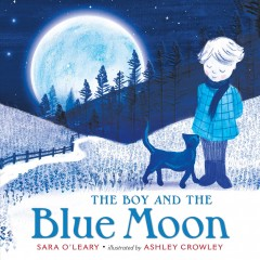 Bookjacket for The Boy and the Blue Moon