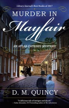 Bookjacket for  Murder In Mayfair