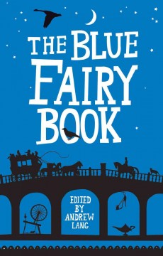 Bookjacket for The blue fairy book
