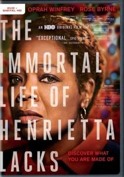 The immortal life of Henrietta Lacks DVD