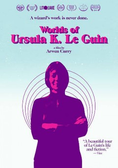 DVD jacket of documentary Worlds of Ursula K. Le Guin