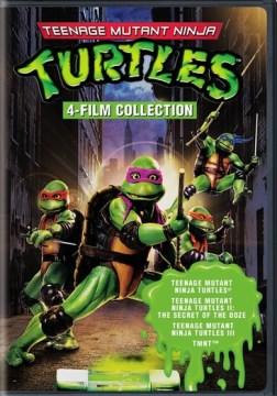 Teenage-Mutant-Ninja-Turtles-:-4-film-collection