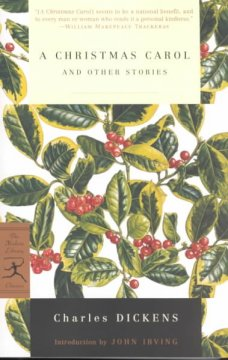 A-Christmas-carol-and-other-stories-/-Charles-Dickens-;-with-an-introduction-by-John-Irving.