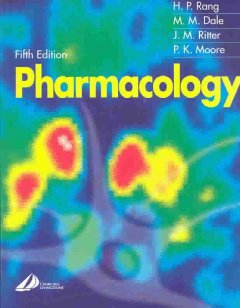 Pharmacology-/-H.P.-Rang-...-[et-al.]-;-illustrations-by-Peter-Lamb.