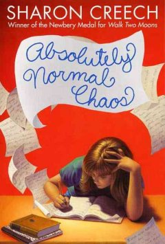 Absolutely Normal Chaos by Sharon Creech book cover