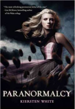 """Cover of """"Paranormalcy"""""""